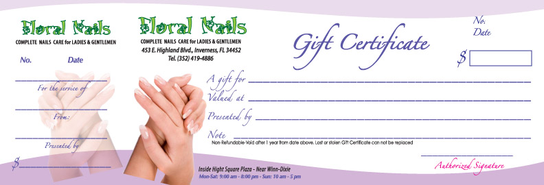 Floral Nails Giftcertificate.328164552 large Top Result 70 Unique Nail Gift Certificate